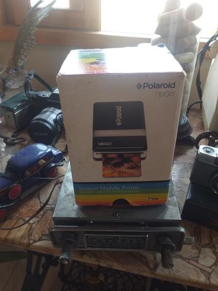 Polaroid Pogo Impressora Caixa Cabo E Manuais Instant Mobile