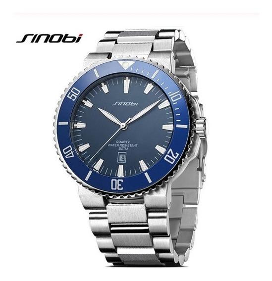 Relógio Masculino Quartz Sinobi Snb-1132
