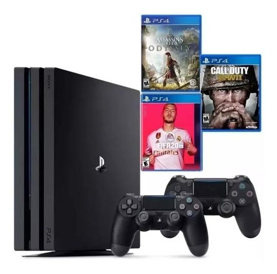 Playstation 4 Pro 1 Tb   Consola Ps4 Pro