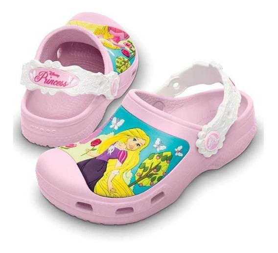 Crocs Princesa Disney Rosa 12180 68h Menina Original