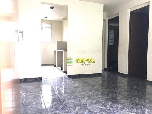 Apartamento Com 2 Dormitórios À Venda, 50 M² Por R$ 140.000,00 - Jardim Pérola Ii - São Paulo/sp - Ap0891