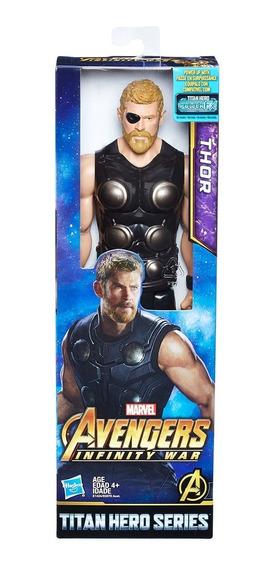 Figura Thor 12 Pulg Titan Hero Series Avengers Marvel Hasbro