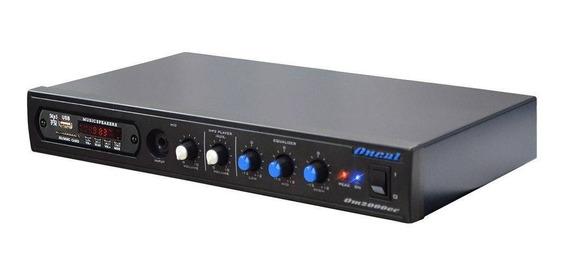 Amplificador Receiver Som Ambiente Oneal Om 2000ec 60w Rms