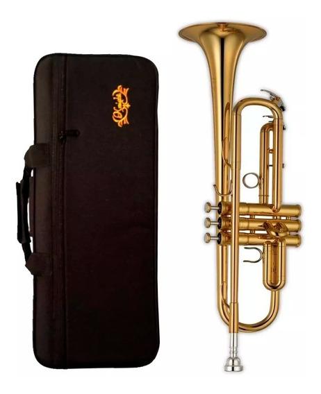 Trompeta Knight Jbtr 300 Laqueada + Estuche + Envio + Cuotas