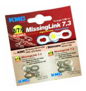 Conector Eslabon Missing Link Kmc 6/7/8 Veloc. Reusable
