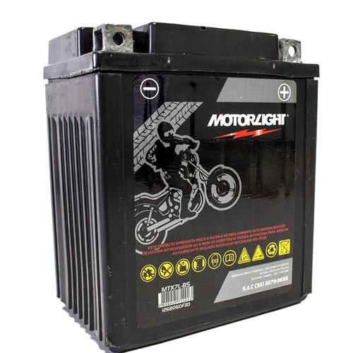 Imagem 1 de 5 de Bateria Moto Honda Xr 250 Tornado Motorlight 6ah Mtx7l-bs