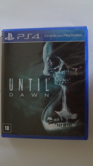 Until Dawn Ps4 Mídia Física Novo E Lacrado