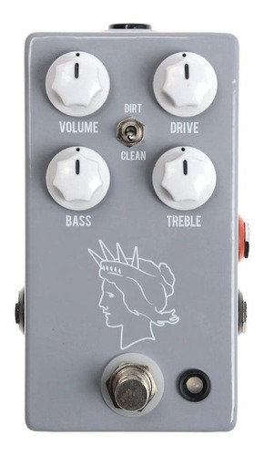 Pedal Jhs Twin Twelve Silvertone 1484 Tones V2 C/ Nf-e