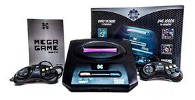 Video Game Retrô Mega Game 123 Jogos Inclusos 246 Versões