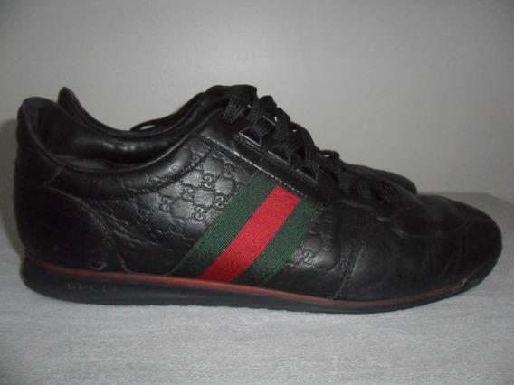 Tênis Gucci Usado Original Tamanho 41 - Autêntico