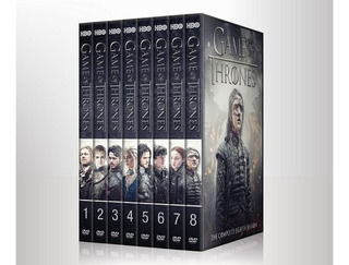 Game Of Thrones - Temporadas Dvd - 8 Temporadas
