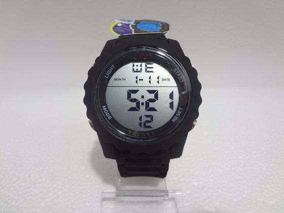 Relógio Masculino Digital Tecnet Prova Dágua Preto Original