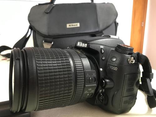 Nikon D7000 Com Objetiva Nikkor 18-140mm