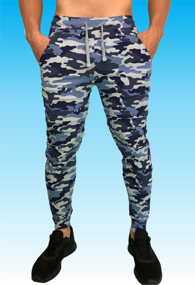 Pants Jogger Deportivo Camuflaje Militar, Camuflado Militar