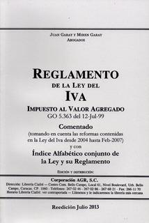 Reglamento De La Ley Del Iva Juan Garay