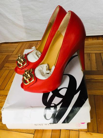 Zapatos Nine West De Taco Alto