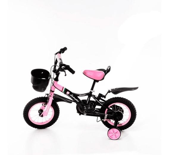 Bici C/canasto R12 Nena 21-7101