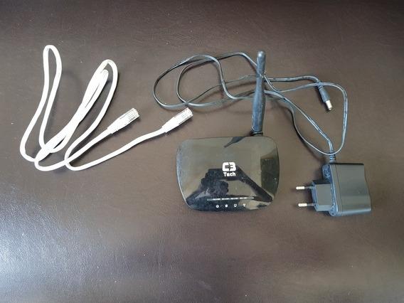 Roteador Sem Fio E Repetidor Ponto De Acesso 802.11n C3tech
