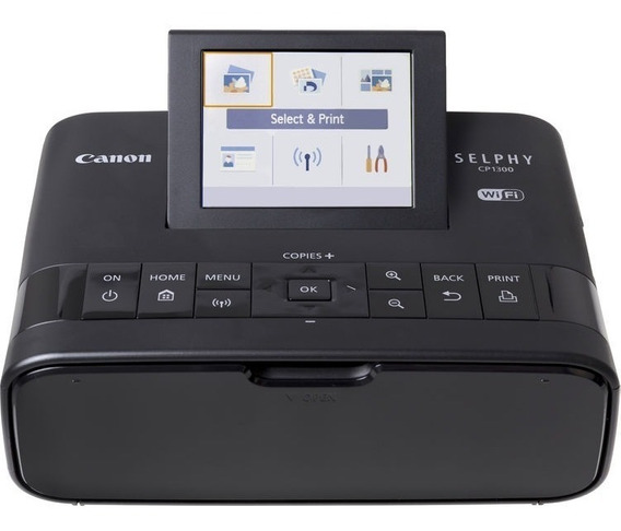 Impressora Portatil Fotográfica Canon Selphy Cp1300 Preta