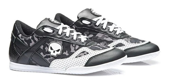 Tenis / Bota Para Treino Mr Skull - Black Skull