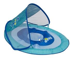 Boia Swimways P/bebes C Cobertura Proteção Uv 50+
