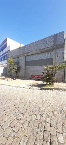 Salão Para Alugar, 100 M² Por R$ 3.500,00/mês - Vila Galvão - Guarulhos/sp - Sl0079