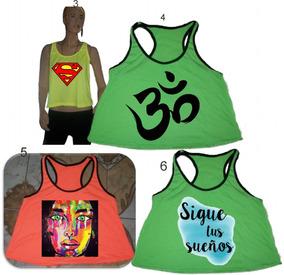 7560b84e8 Remera Musculosa Amarillo Fluor - Remeras y Musculosas de Mujer en ...