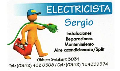 Instalador Electricista - Profesionalismo Y Seriedad