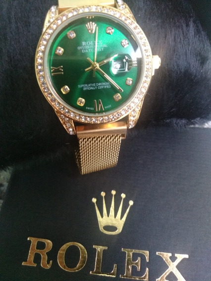 Rolex Feminino Pulseira Magnética