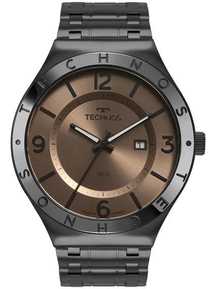 Relógio Technos Masculino Steel Preto 2117lbs/4m