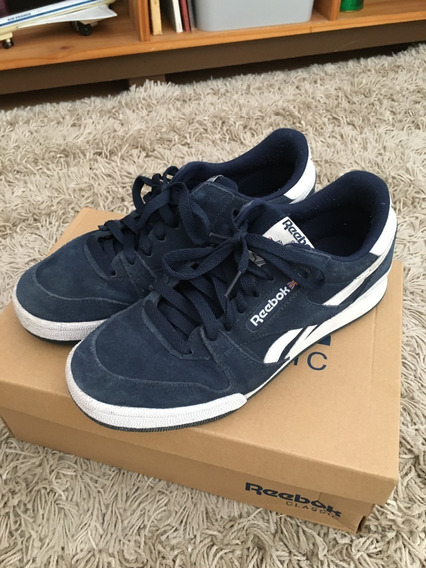Zapatillas Reebok Phase 1 Pro Azules Tipo Club C 35
