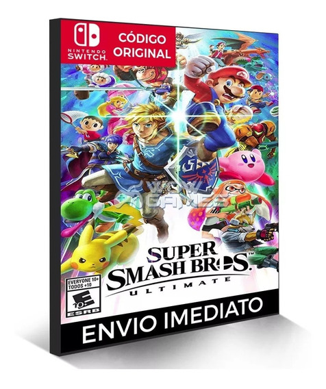 Super Smash Bros Ultimate - Nintendo Switch Código Eshop