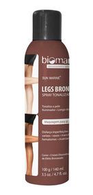 Legs Bronzer Biomarine-tonaliza Pernas 140ml Nuv & Ruche