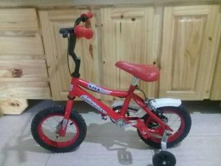 Bicicleta Top Mega, Rodado 12.