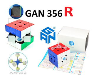 Cubo Rubik Gan 356 R 3x3 Stickerless