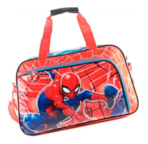 Bolso Spiderman Con Bolsillo Licencia Oficial 82071 Mapleweb