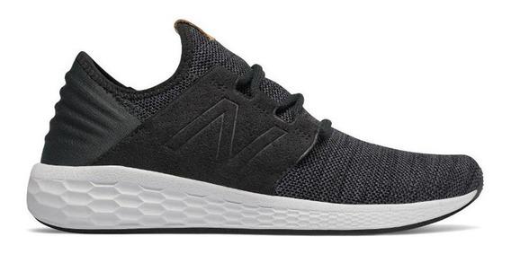Zapatillas New Balance Fresh Foam Cruz V2 - Negra - Hombre