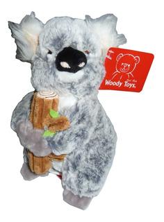 Koala De Peluche Abrazado Al Tronco De 21 Cm