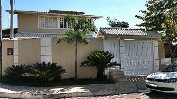 Casa Niterói Condomínio 3 Quartos, Piscina E Churrasqu - 336