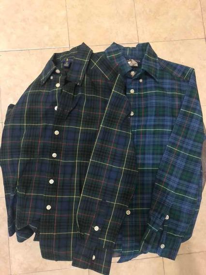 2 Camisas Ralph Lauren - Talla 8 (niños)