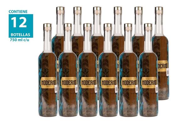 Tequila Moderno Reposado 750ml (12 Piezas)