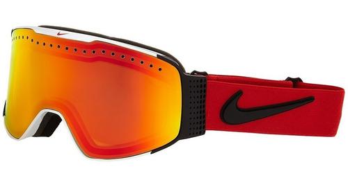 Antiparras Ski Snowboard // Nike Fade White University Red
