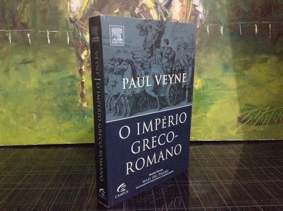 O Império Greco- Romano - Paul Veyne (livro Seminovo)