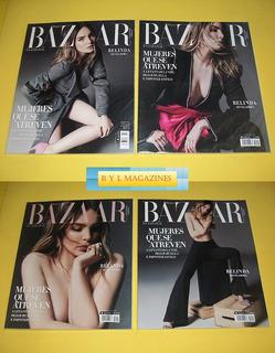 Belinda Revista Harpers Bazaar Colombia 4 Portadas Distintas