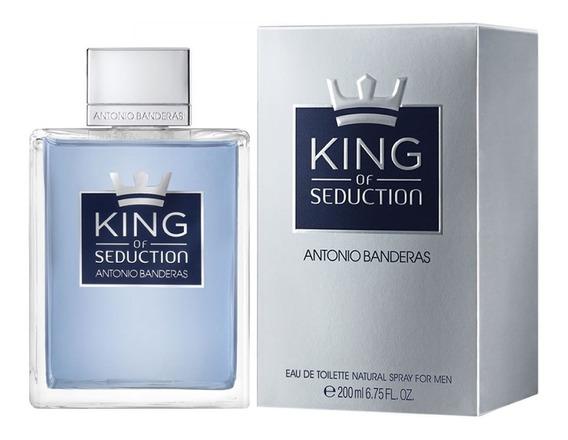 Perfume King Of Seduction 200ml Antonio Banderas Original