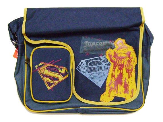 Mochila Correa Superman Dc Comics + Envio Gratis