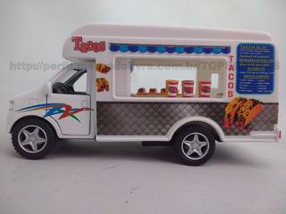 Miniatura Caminhão Camionete Carrinho Food Truck Lanches