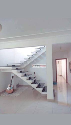 Sobrado Com 3 Dormitórios À Venda, 150 M² Por R$ 400.000,00 - Residencial Bosque Dos Ipês - São José Dos Campos/sp - So0277