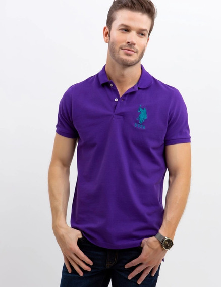 Playera Tipo Polo U.s. Polo Assn. Original !!