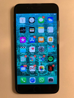 iPhone 7 Plus 256 Gb Negro Usado